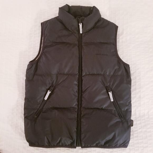 Esprit Sport | Black Tan Down Feather Puffer Vest
